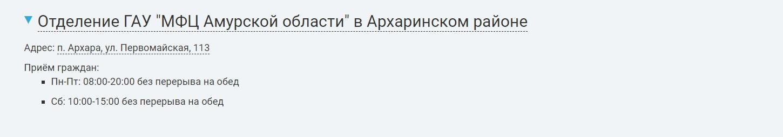 Пенсионный фонд Амурской области