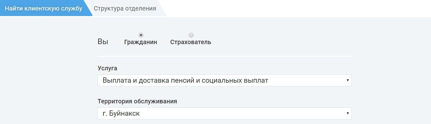 Пенсионный фонд Дагестан